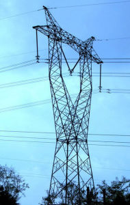 Power Plant/Angle-Steel Tower/Power Transmission Tower / Mild Steel / Galvanized Steel -01