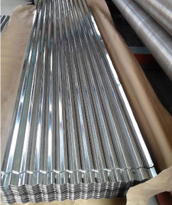 JIS G3302 SGCC Hot Dipped Galvanized Corrugated Steel Sheets pictures & photos