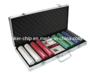400PCS Poker Chip Set in Square Corner Aluminum Case (SY-S23) pictures & photos