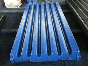 Movable/Swing and Fixed Jaw Plate for Jaw Stone Crusher Spare Parts pictures & photos
