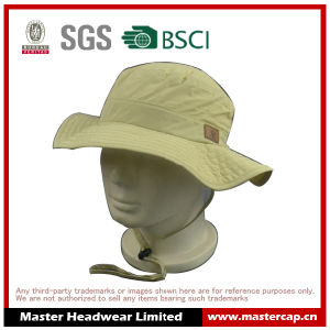 New Style Polyester Outdoor Bucket Fish Hat for Adults Size