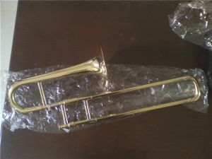 Trumpet, Slide Trumpe, Htl-684, Gold Lacquer, Yellow Brass, Bb
