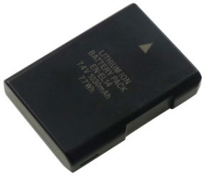 Fully Decoded Rechargeable Camera Battery for Nikon Coolpix P7000