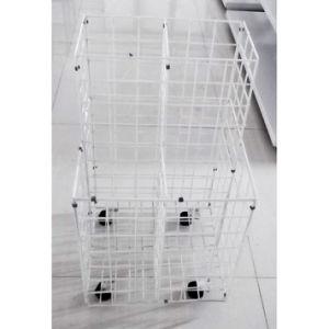 Metal Wire Storage Rack with Castors pictures & photos