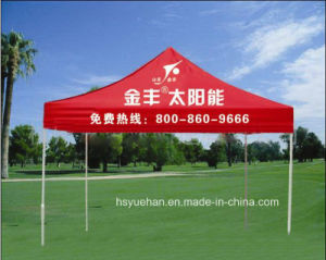 2016 China New Design Cheap Good Quality Cool Blue Folding Tent Steel Frame Tent pictures & photos