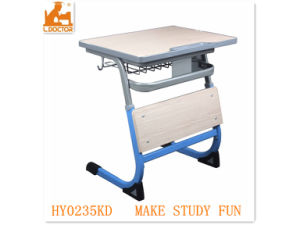 School Adjustable Wood Children Table/Student Furniture pictures & photos