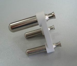 3 Hollow Pins India Type Plug Insert (MA008-H) pictures & photos