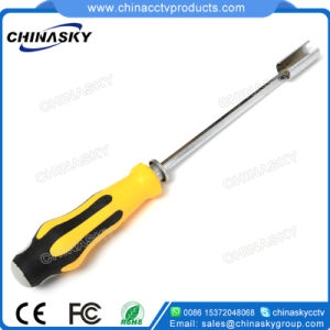 Adjustable Handle Cable Wire Installation Removal Tool for F Connector (T5220) pictures & photos