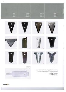Harvester Stationary Knife Blade for Knife Guard
