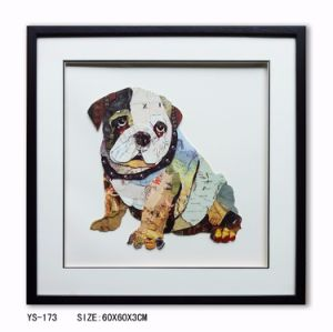 Handmade 3D Art Painting Wall Painting Cute Dog Painting for Decorations pictures & photos