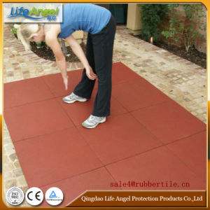 Playground Rubber Floor Tile, Square Rubber Tile pictures & photos