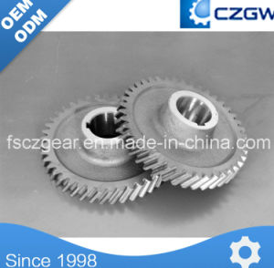 High Precision Customized Transmission Gear Drum Gear for Mincing Machine pictures & photos
