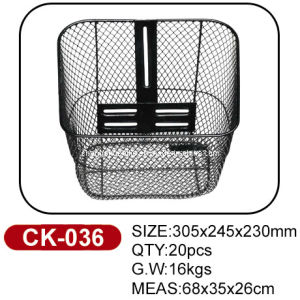 Strong Quality Bike Basket Ck-036 pictures & photos