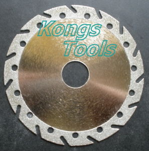 Diamond Plated Cutting Discs for Stone (HK-B33)