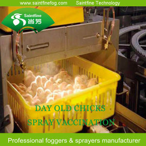 Spray Type Day Old Chicks Vaccination Equipment