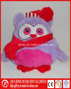 Hot Sale Microwaveable Bed Warmer Christmas Owl Toy pictures & photos