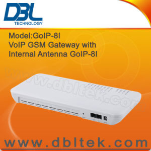 VoIP GSM Gateway 8 SIM with Internal Antenna GoIP8I pictures & photos