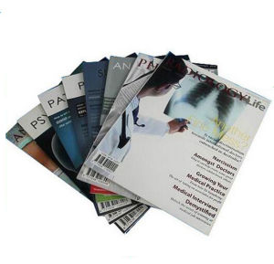 Glossy Lamination Full Color Magazine Printing (jhy-882) pictures & photos