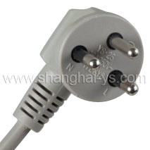 Power Cord Plug (YS-25) pictures & photos
