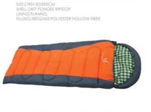 Envelop Sleeping Bag Winter Outdoor Sleeping Bag Cotton Sleeping Bag pictures & photos