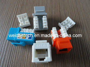 UTP CAT6 Keystone Jack with Dust Cover (WD6B-009) pictures & photos