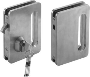 Glass Door Lock Sw-01A pictures & photos