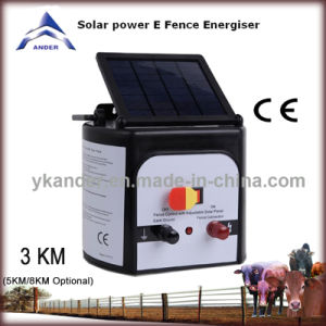 ELECTRIC DEER FENCE CHARGERS - SOLAR POWERED
