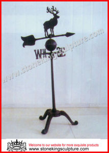 Wrought Iron Weathervane (SK-5680) pictures & photos