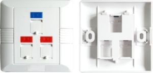 Network Face Plate for Cat5e/CAT6 Keystone Jack pictures & photos