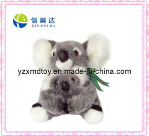 Gray Koala with Baby Stuffed Plush Toy pictures & photos