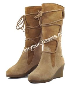 Australia Womens Elsey Wedge Snow Boots (5596)