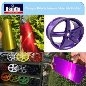 Automovie Rim Electrostatic Bonding Metallic Effect Spray Powder Coating pictures & photos