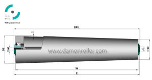 Middle Duty Tapered Conveyor Roller (1500) pictures & photos