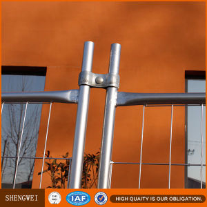 Construction Site Electric Galvanized Welded Wire Meshtemporary Fencing pictures & photos