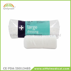 Medical Czech Standard First Aid Trauma Bandage with Two Pad pictures & photos