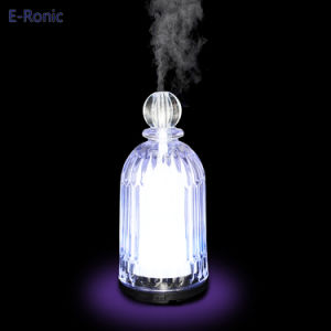 Factory Supply Colorful LED Glass Ultrasonic Aroma Oil Diffuser pictures & photos