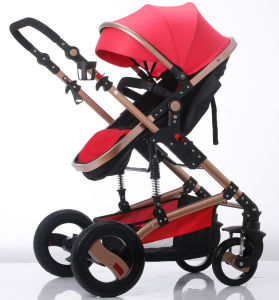New Design European Luxury Fold Baby Stroller with Foot Cover pictures & photos