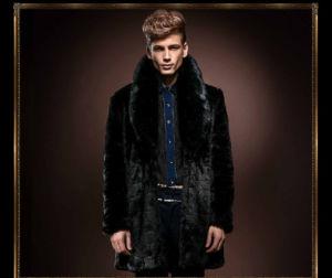 New Winter Imitation Rabbit Fur Coat for Men pictures & photos