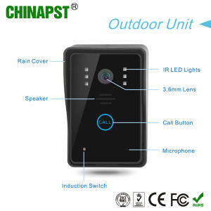 7 Inch Color Wired Touch Key Video Security Doorphone (PST-VD7WT2) pictures & photos