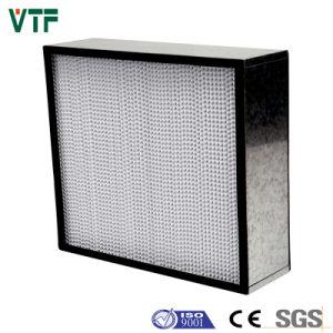 Extruded Aluminium 0.3um HS Deep Pleat HEPA Filter pictures & photos