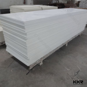 China Wholesale 12mm Glacier White Solid Surface pictures & photos