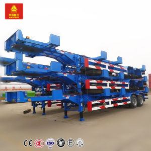 2 Axles 40FT Skeleton Semi Trailer/ Container Chassis Truck Trailer pictures & photos