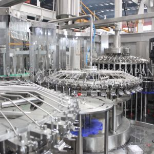 Automatic Beverage Juice 3in1 Filling Production Line pictures & photos
