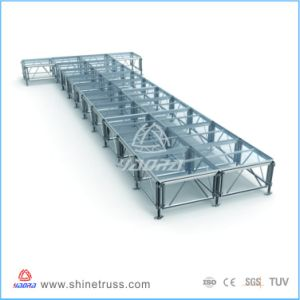 Glass Stage Lighting Stage Dance Stage Portable Stage pictures & photos