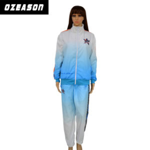 Wholesale Blank Training Tracksuit Top / Pants Women Gym Track Suit (TJ008) pictures & photos