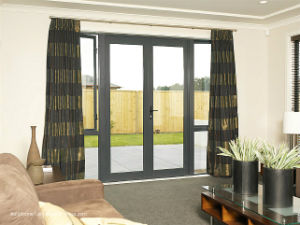 80 Inch Tall Pre-Finished Patio Doors for Exterior Balcony pictures & photos