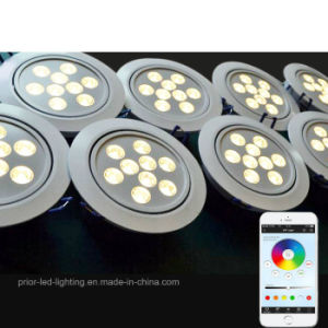 RGBW LED Ceiling Light Recessed Circle Luminaire pictures & photos