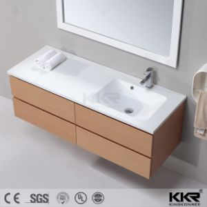 White Bathroom Cabinet Basin for Sale pictures & photos
