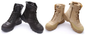 Esdy Tactical Army Training Assault Outdoor Military Boots pictures & photos