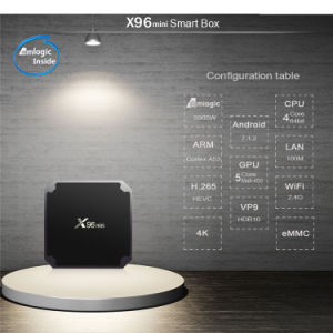 X96 Mini Android 7.1 TV Box Amlogic S905W Kodi 17.3 Smart TV Box X96 pictures & photos